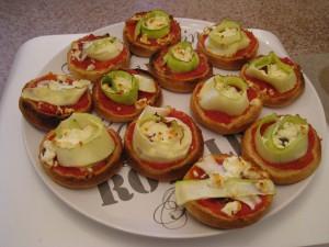 MUFFINS A LA COURGETTE dans apéritif pizza-blinis-2-300x225