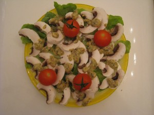 SALADE DE CHAMPIGNONS dans salade img_9577-300x225