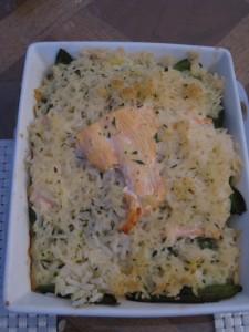 MILLE FEUILLE DE SAUMON AUX POIS GOURMANDS dans légumes haricots-plats-saumon-21-e1361826180361-225x300