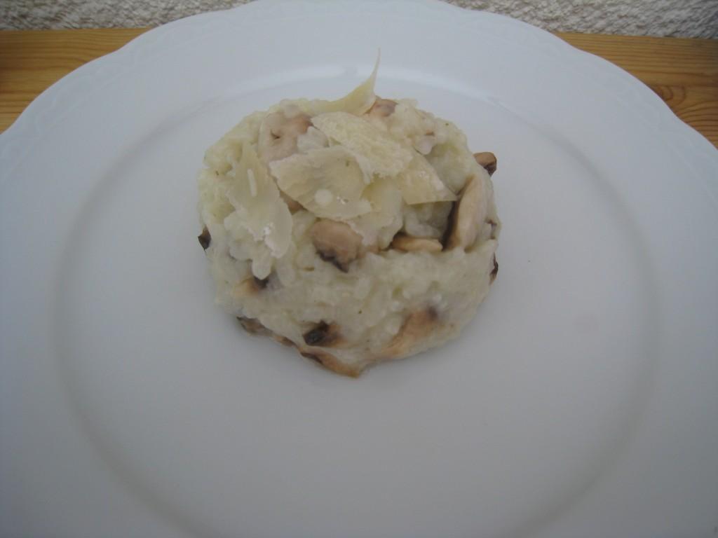 les petits plats de mimimarie risotto champignons. Black Bedroom Furniture Sets. Home Design Ideas