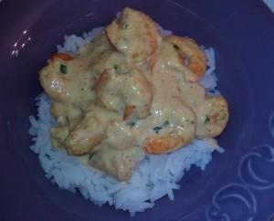 crevettes-curry-1-e1372422793790-300x242 crevettes dans plat complet