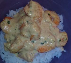 CREVETTES CURRY-LAIT DE COCO dans je suis en retard (recettes rapides) crevettes-curry-2-e1372423108212-300x267